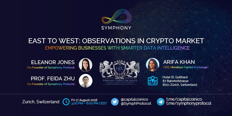 Symphony Protocol (Zurich): East to West: Observations in Crypto Market