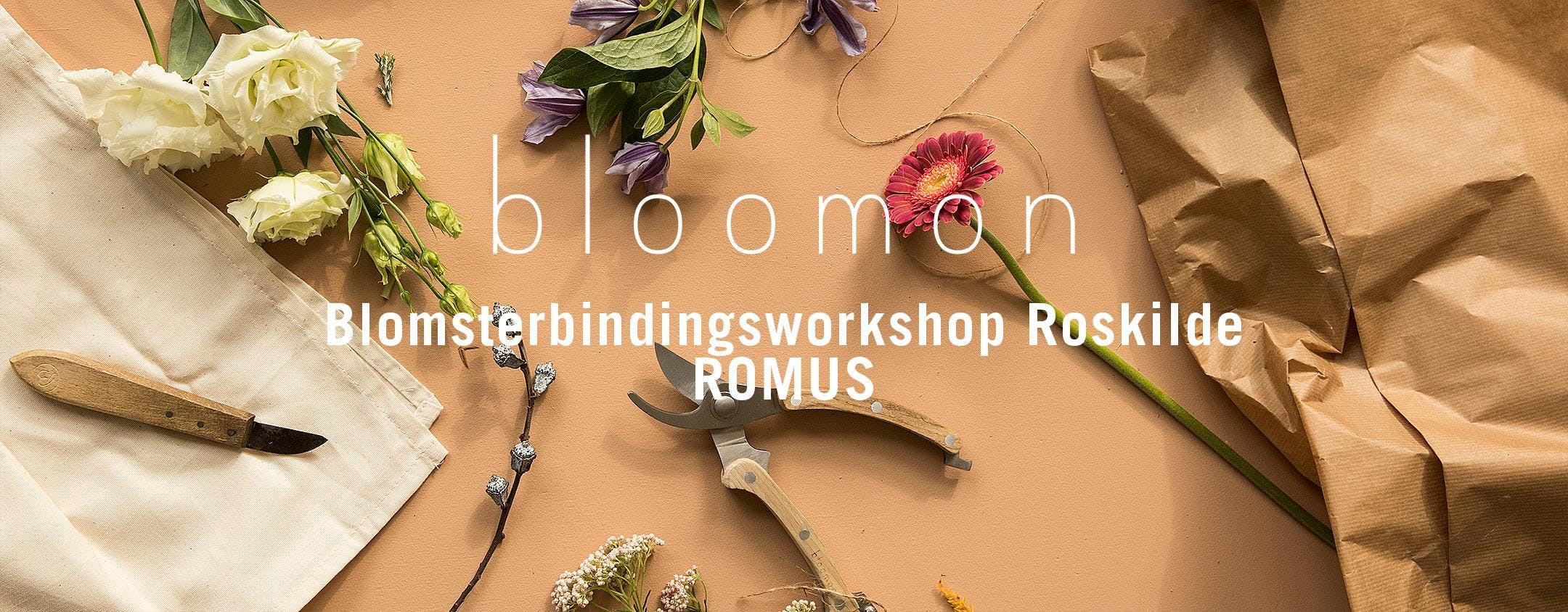 bloomon blomsterbindings-workshop 19. septemb
