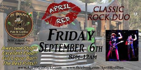 April Red LIVE at PJ Dolan's Irish Pub & Grill in Tampa! tickets