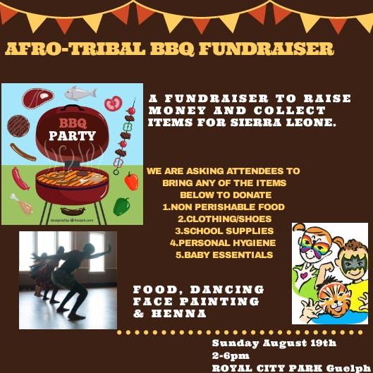 Afro-Tribal BBQ fundraiser