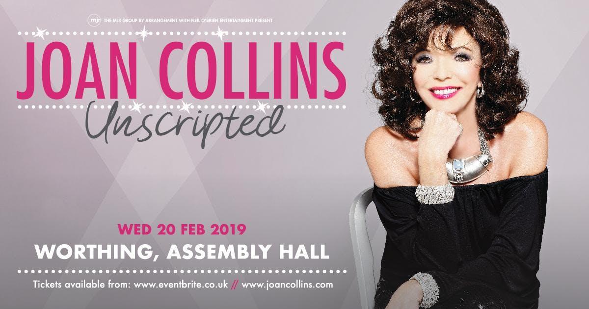 Joan Collins - Unscripted (Live) (The Assembl