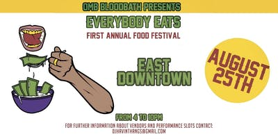 Food Vendors for Everybody Eats First Annual Food Festival