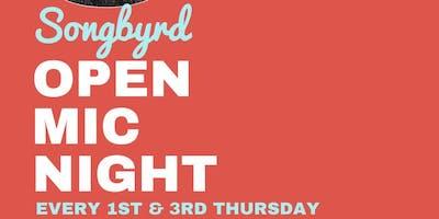 Open Mic Night at Songbyrd