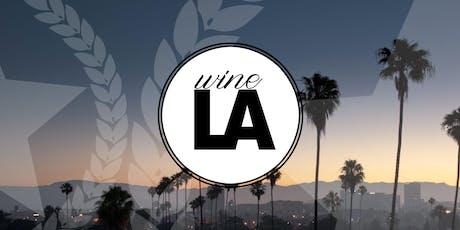 2019 wineLA Vintners Interest List tickets