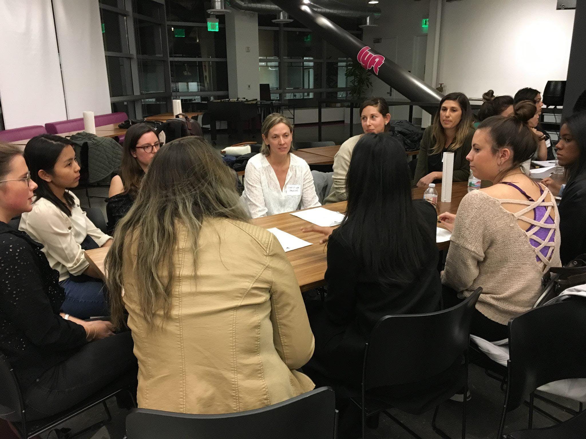 Speed Mentoring: All Access to Leading Female