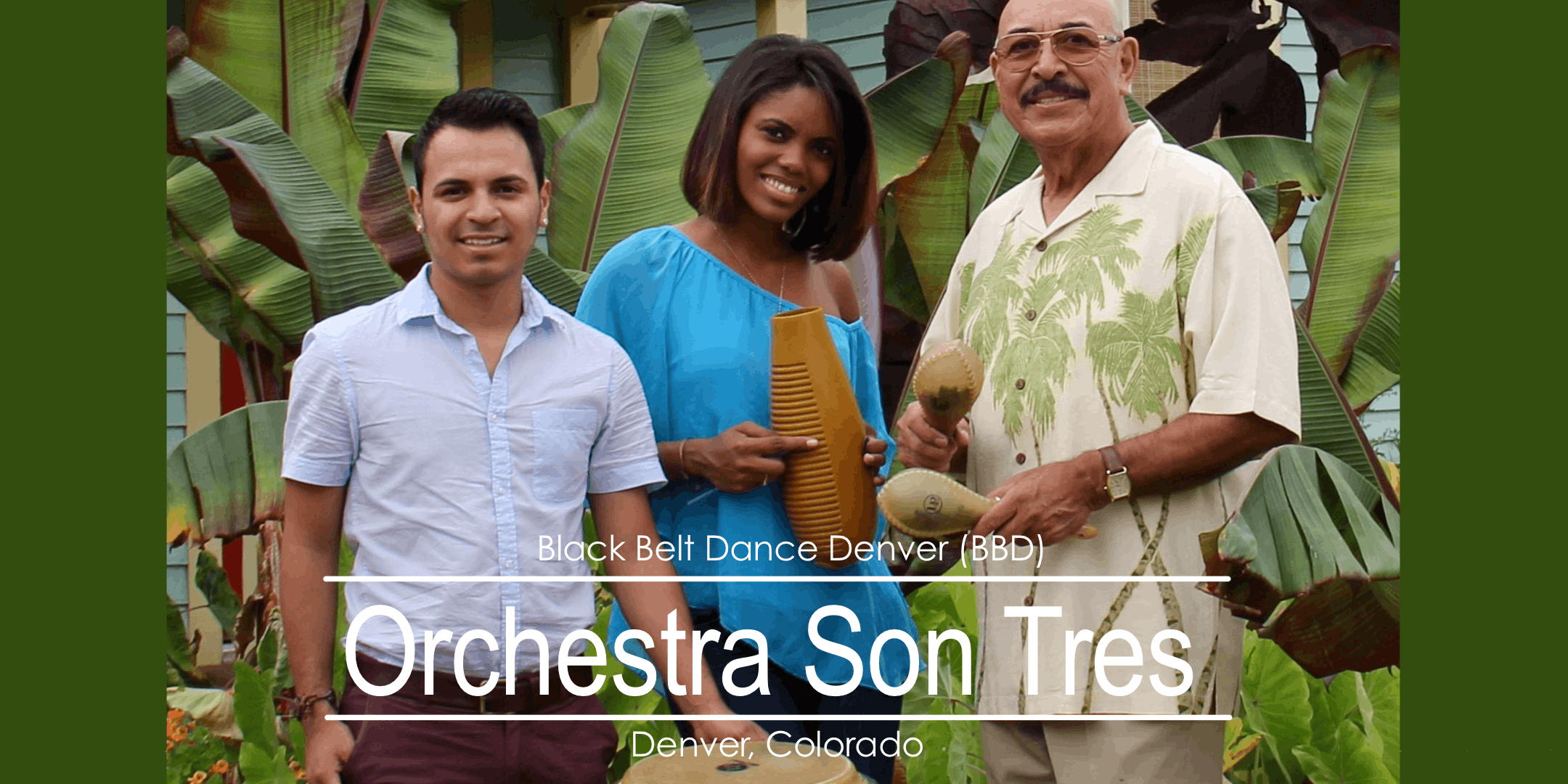 LIVE BAND!! Son Tres Orchestra - Salsa Dance & Potluck Party!!