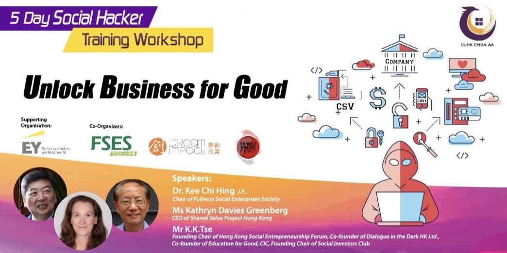 Social Hacker Training Workshop | Unlock Business For Good
