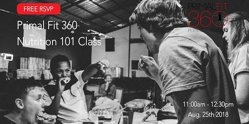Primal Fit Nutrition 101 Class   Miami Shores