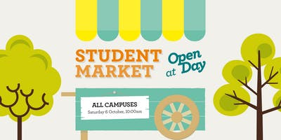 Student Market at Open Day - Saturday 6 October 2018 - Stall Holder Expression of Interest