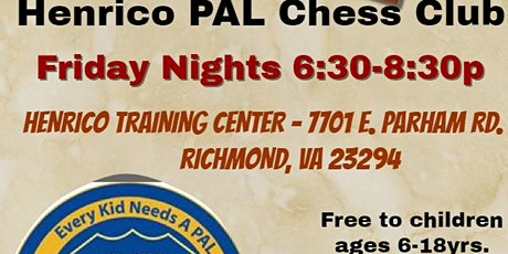 HPAL Friday Night Chess Club tickets