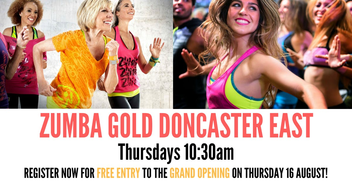 Free Zumba Gold Classes Doncaster East