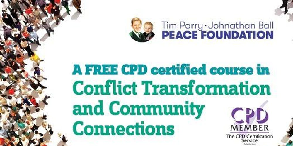 Cpd Conflict Transformation Course Free Afternoon Course Burnley