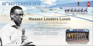 Wessex Leaders Lunch with Yinka Oyekan