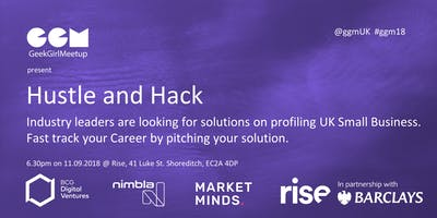 Hustle and Hack - Introduction to data hacking - Hackathon