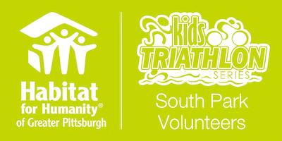 Habitat Pittsburgh's 2019 Kids Triathlon - South Park Volunteer