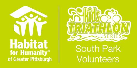 Habitat Pittsburgh's 2019 Kids Triathlon - South Park Volunteer tickets