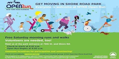 NYRR Open Run: Shore Road Park tickets