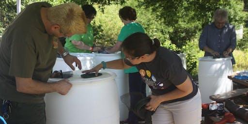 Rain Barrel Make & Take at Hyde Farm