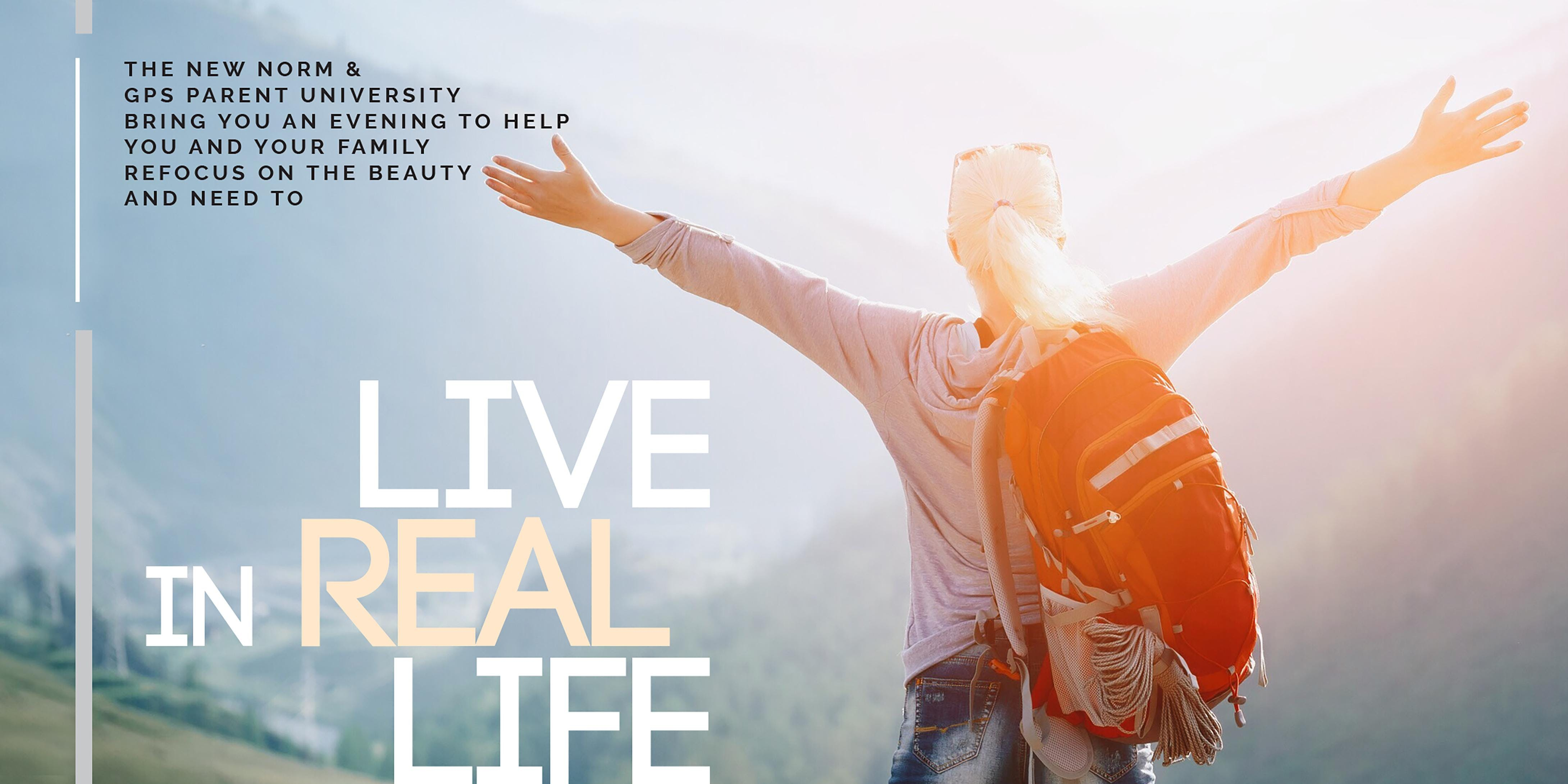 Live In Real Life