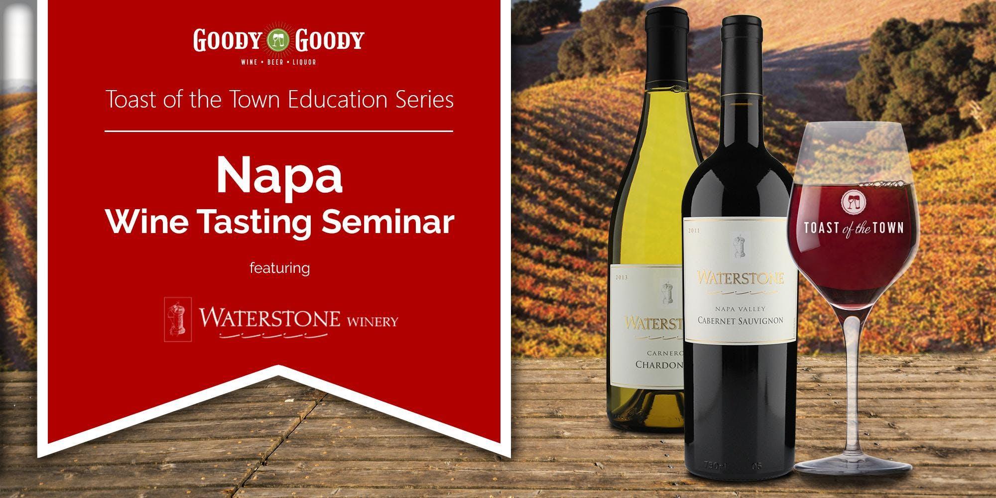 Napa Wine Tasting Seminar with Waterstone Win