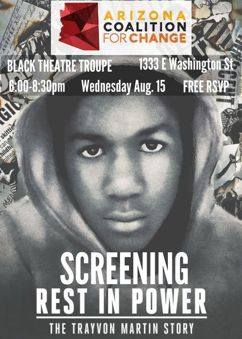 Rest in Power: The Trayvon Martin Story Screening & Discussion
