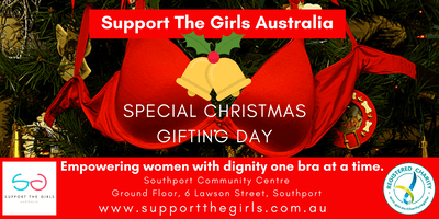 Support The Girls Xmas Bra Gifting Day Southport Community Centre