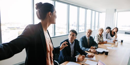 How to present to a board or senior management