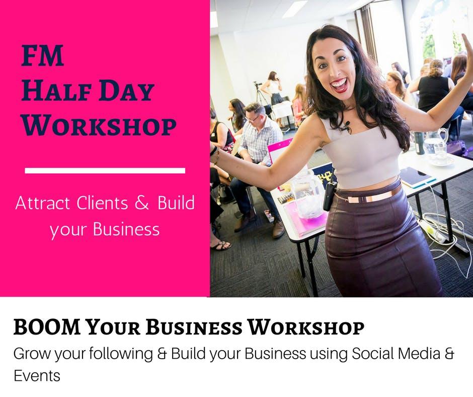 Become INVINCIBLE in Social Media! Half Day B