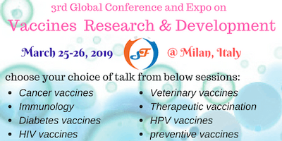 3rd Global Conference and Expo on Vaccines Research & Development