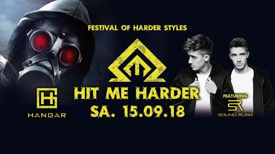 HANGAR Club : ▣ Hangar Hit me Harder ft SOUND RUSH ▣ Sa 15 09
