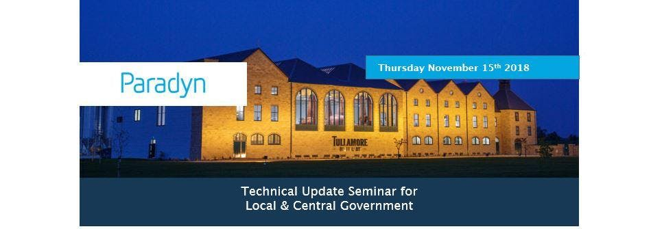 Paradyn Technical Seminar - Local & Central Government