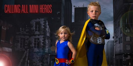 Mini Superhero Photo Event By Pure Purple Studios tickets