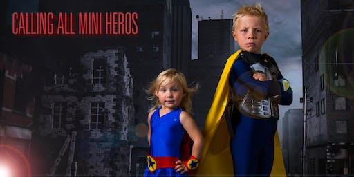 Mini Superhero Photo Event By Pure Purple Studios