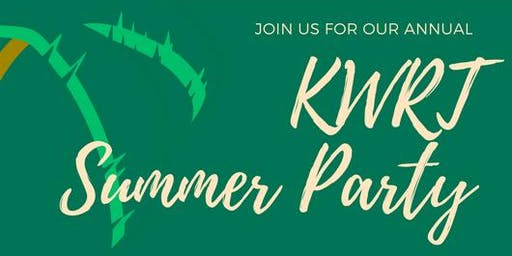 KWRT Summer Party!