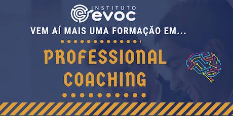 Taxa de Matrícula Professional Coaching EVOC ingressos