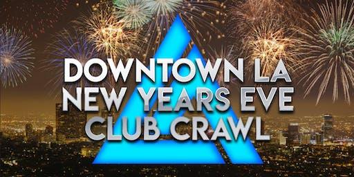 2018 New Years Eve Downtown La Club Crawl
