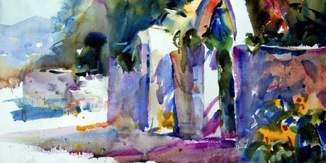 PAINTING FRESH and EXPRESSIVE WATERCOLORS with Tom Francesconi, AWS, NWS, TWSA, WW tickets