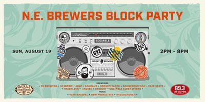 Sociable Summer Presents the NE Brewers Block Party
