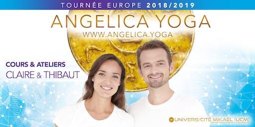 Journée-atelier Angelica Yoga à Genève/Suisse, avec Thibaut et Claire Favre-de-Thierrens