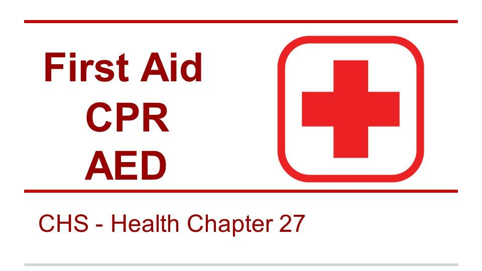 Ashi Cpr Aed And Basic First Aid Combination Training 14 Sep 2018