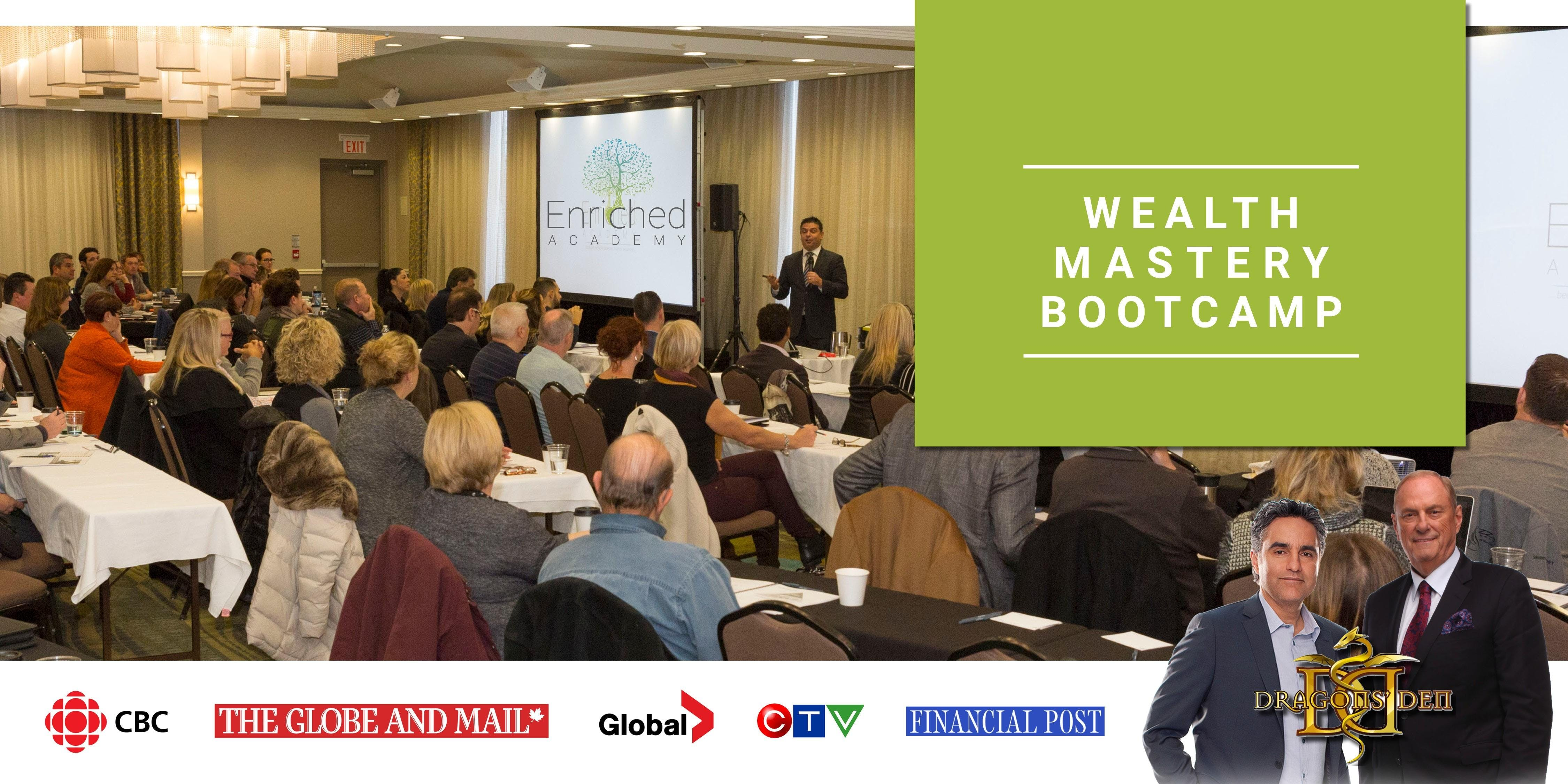 Wealth Mastery Bootcamp Ottawa Ontario