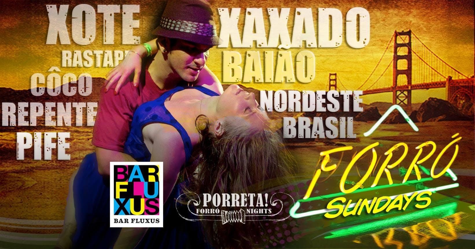 Brazilian Forró Sundays
