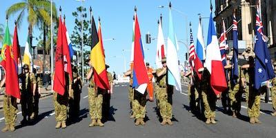 Anzac Day Parade Brisbane 2020