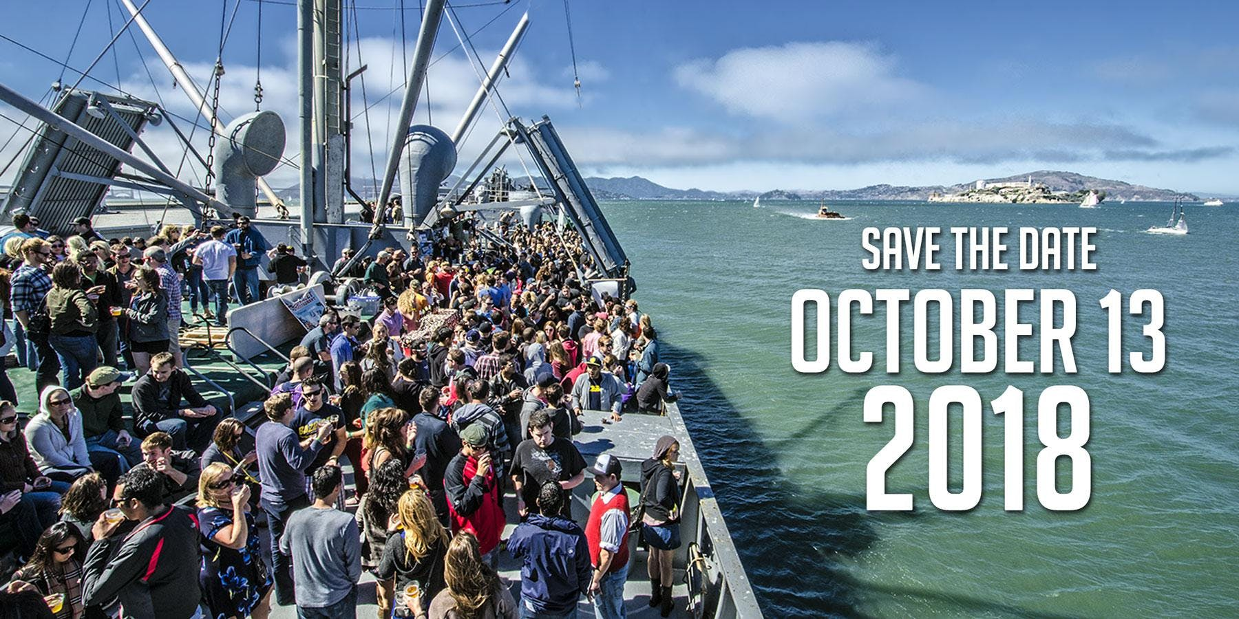 Brews on the Bay 2018 at SS Jeremiah O\'Brien in San Francisco ...