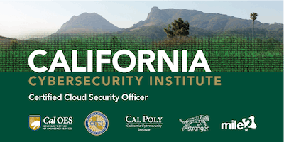 C)CSO — Certified Cloud Security Officer /OnSite/ Feb 4-8, 2019