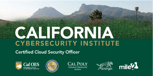 C)CSO — Certified Cloud Security Officer /OnSite/ Oct 14-18, 2019