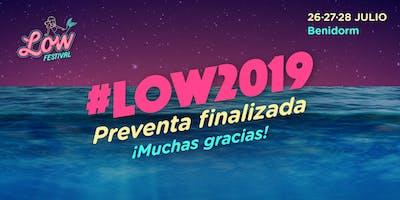 Low Festival Benidorm 2019