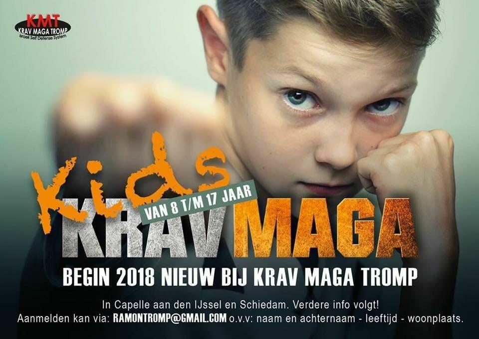 Kids Krav Maga Proefles