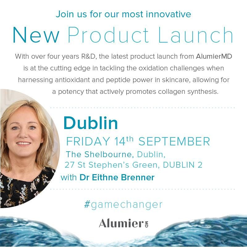 AlumierMD Product Launch Dublin