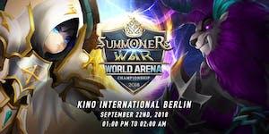 Summoners War Чемпионат Мировой Арены 2018 Кубок Европы